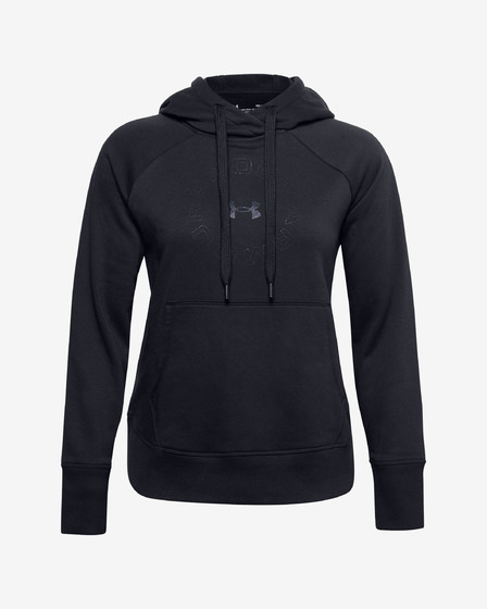 Under Armour Rival Fleece Metallic Mikina