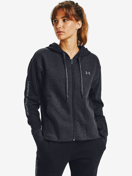 Under Armour Rival Fleece Embroidered Full Zip Mikina