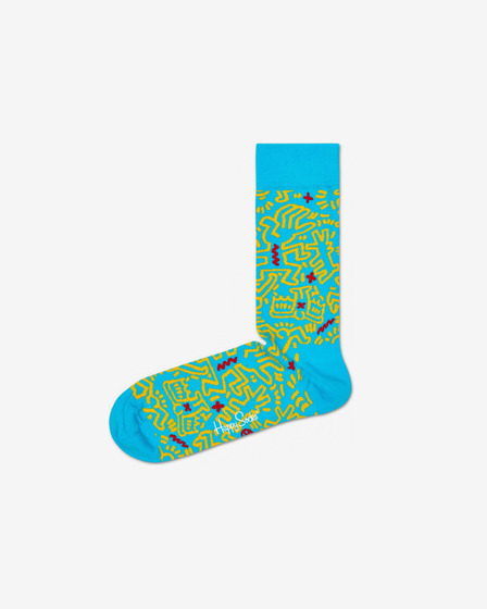 Happy Socks Keith Haring All Over Ponožky