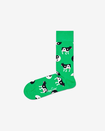 Happy Socks Ying Yang Cow Ponožky